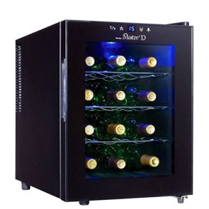 Danby DWC1233BL-SC 12 Bottle Wine Cooler – Black